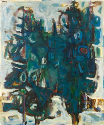 DAVID C. DRISKELL (1931 -  ) Two Pines (Two Trees).
