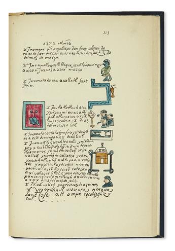 (MEXICO.) Aubin, J.M.A. Histoire de la nation Mexicaine depuis le départ dAztlan jusquá larrivée.