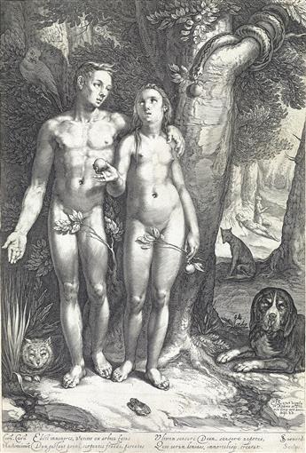 JAN SAENREDAM Temptation of Man.