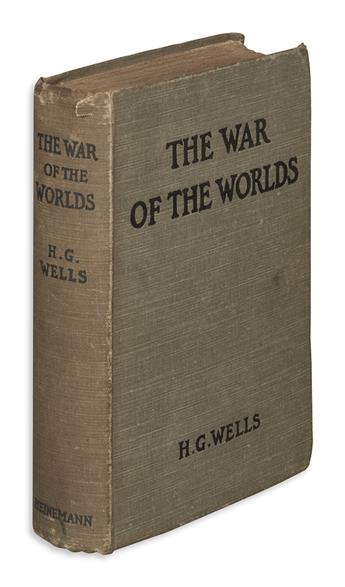 WELLS, H.G. The War of the Worlds.