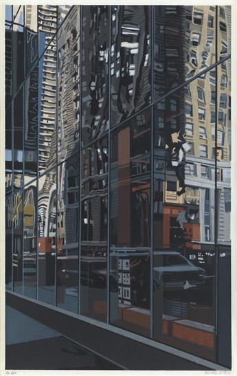 RICHARD ESTES Detail, Times Square.