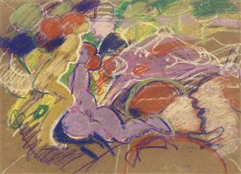 EMILIO CRUZ Nudes in a Landscape.