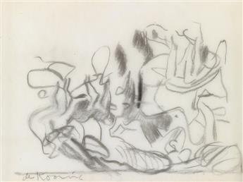 WILLEM DE KOONING Untitled (Seated and Reclining Women).