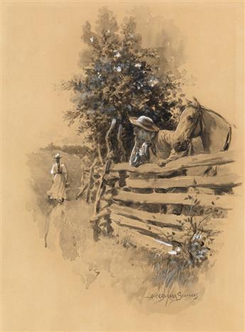 ALICE BARBER STEPHENS. Country scene.