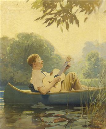 VICTOR COLEMAN ANDERSON. Pond Song.