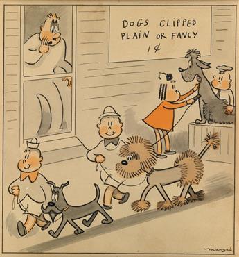MARJORIE HENDERSON BUELL. Dogs Clipped: Plain or Fancy 1¢.