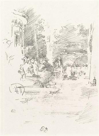 JAMES A. M. WHISTLER The Little Café au Bois.