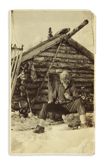(ALASKA.) Photographs and other papers of gold miner and fox rancher Frederick F. Berry.