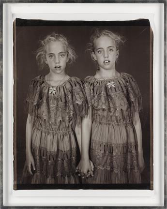 MARY ELLEN MARK (1940-2015) Heather and Kelsey Dietrick, Twinsburg, Ohio (variation #3).
