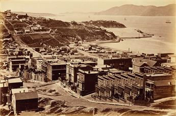 CARLETON E. WATKINS (1829-1916) The Golden Gate from Telegraph Hill, San Francisco.