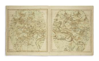 (CELESTIAL) Burritt, Elijah H.; and Mattison, Hiram. Atlas, Designed to Illustrate the Geography of the Heavens...