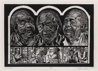 JOHN TARRELL SCOTT (1940 - 2007) Samella.