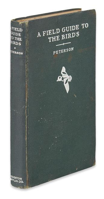PETERSON, ROGER TORY. A Field Guide to the Birds.