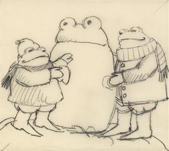 ARNOLD LOBEL. Frog and Toad Building a Snowman.