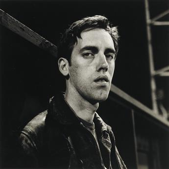 PETER HUJAR (1934-1987)  David Wojnarowicz: Manhattan-Night (III).
