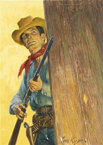 (PULP / WESTERN) TOM RYAN. Rugged Outlaw.