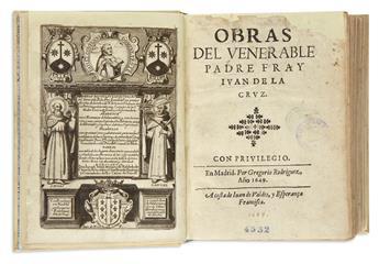 CRUZ, JUAN DE LA, Saint. Obras.  1649