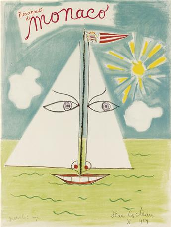 JEAN COCTEAU (1889-1963). [COCTEAU.] Group of 3 posters. Sizes vary.