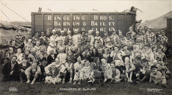 KELTY, EDWARD J. (1888-1967) Congress of Clowns.