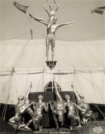 KELTY, EDWARD J. (1888-1967) Marcellus Golden Models.