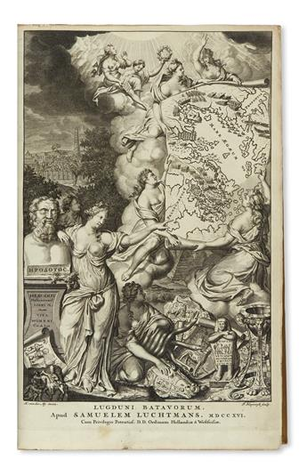 HERODOTUS. Historiarum libri IX.  1715 [i. e., 1716]