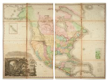 TANNER, HENRY SCHENCK. A New American Atlas Containing Maps of the Several States of the North American Union.