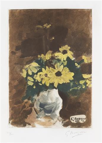 GEORGES BRAQUE (after) Vase de Fleurs Jaunes