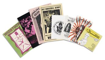 VARIOUS ARTISTS  New York City gay club and party flyers and invitations.