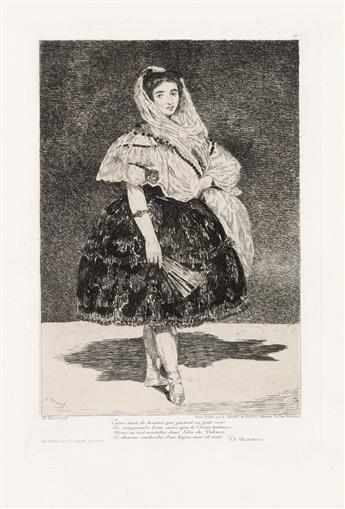 ÉDOUARD MANET Lola de Valence.