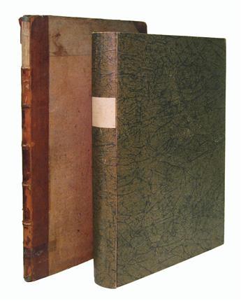 WEIDMANN, JOHANN PETER. De necrosi ossium. 1793 + WENZEL, CARL. Über die Krankheiten am Rückgrathe. 1824