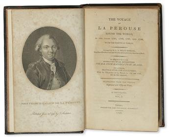 LA PÉROUSE, JEAN-FRANÇOIS DE GALAUP, Comte de. The Voyage . . . round the World, in the Years 1785, 1786, 1787, and 1788. 2 vols. 1798