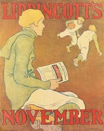 JOSEPH J. GOULD, JR. (1880-1935). LIPPINCOTTS NOVEMBER. 1896. 16x13 inches, 42x33 cm. J.B. Lippincott Co., [Philadelphia.]