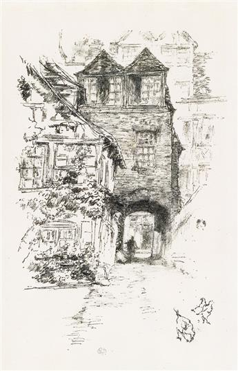 JAMES A. M. WHISTLER The Priests House, Rouen.
