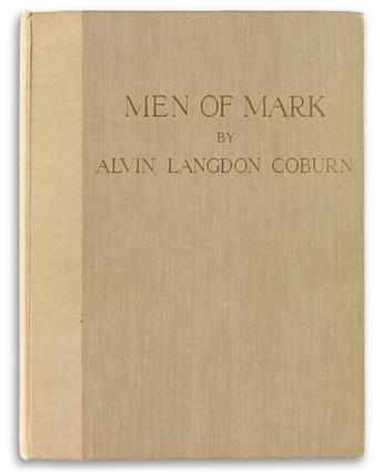 ALVIN LANGDON COBURN. Men of Mark.