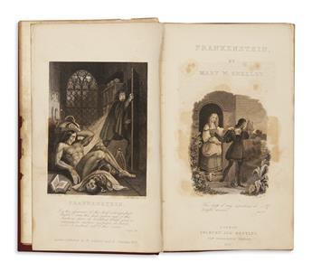 SHELLEY, MARY WOLLSTONECRAFT. Frankenstein: or, the Modern Prometheus.