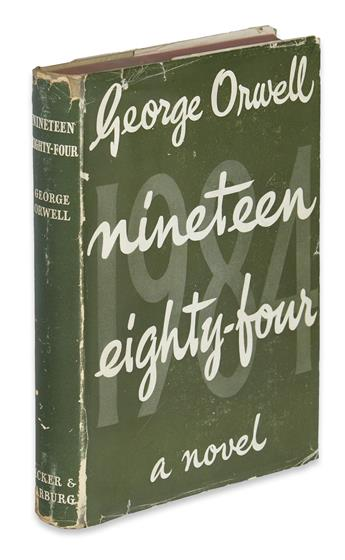 ORWELL, GEORGE. Nineteen Eighty-Four.