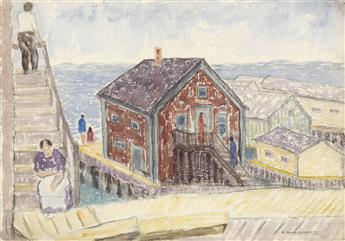 ABRAHAM WALKOWITZ Wharf.