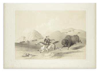 CATLIN, GEORGE. Buffalo Hunt, Chasing Back.