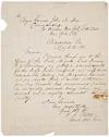 Civil War. PORTER, FITZ JOHN. Autograph Letter Signed, to Major General John A. Dix,