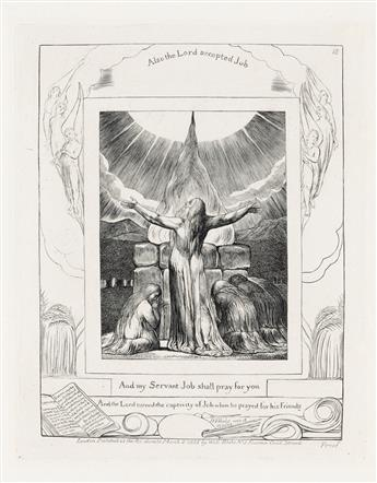 WILLIAM BLAKE And My Servant Job Shall Pray for You.