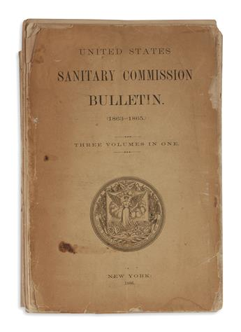 (BOOKS AND PAMPHLETS.) United States Sanitary Commission Bulletin.