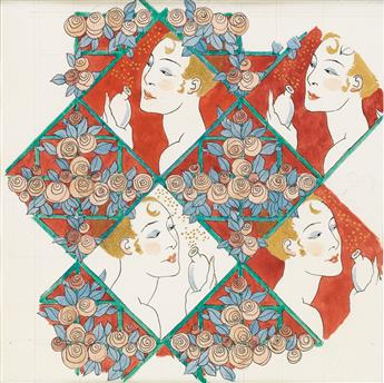 GEORGE BARBIER. Perfume box design.