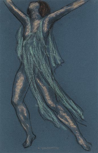 ABRAHAM WALKOWITZ Isadora Duncan (Green Dancer).