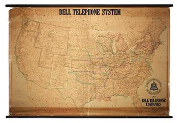 AMERICAN TELEPHONE & TELEGRAPH CO. Lines of the Bell Telephone Companies. United States and Canada July 1, 1909.
