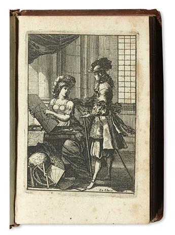 LE CLERC, SÉBASTIEN. Pratique de la Géometrie, sur le Papier et sur le Terrein.  1669