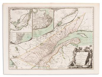 (CANADA.) Carver, Jonathan. A New Map of the Province of Quebec, According to the Royal Proclamation of the 7th of October 1763.