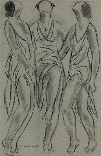 ABRAHAM WALKOWITZ Three Dancers.