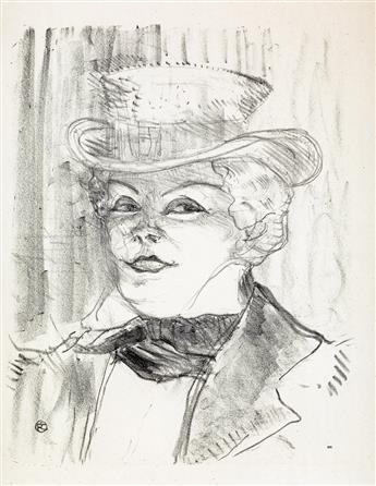 HENRI TOULOUSE-LAUTREC Madame Réjane.