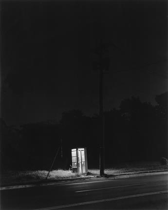 GEORGE A. TICE (1938- ) Phone Booth, 3 A.M., Rahway, NJ.