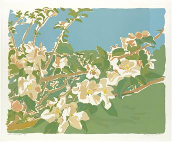 FAIRFIELD PORTER Apple Blossoms II and III.
